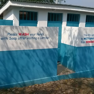 partners of community development pit latrines